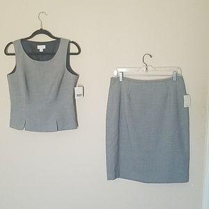 NWT Liz Claiborne Suits Skirt & Top Combo 10P